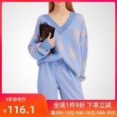 sweater Autumn of 2018 S M L XL 2XL Blue green check Pink Long sleeves Socket singleton  Regular polyester fiber 71% (inclusive) - 80% (inclusive) V-neck Regular street routine lattice Straight cylinder Regular wool Keep warm and warm 25-29 years old QOOEL QE18QKM011F Polyester 80% wool 20%
