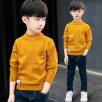 Sweater / sweater 150cm,110cm,160cm,120cm,130cm,140cm other male Other / other leisure time Socket routine Half high collar Solid color Class B 3 months
