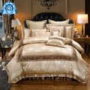 Bedding Set / four piece set / multi piece set Others Embroidery Plants and flowers See description Other / other Others 4 pieces 1.5m (5 ft) bed, 1.8m (6 ft) bed, 2.0m (6.6 ft) bed Bed cover type Qualified products jacquard weave