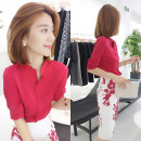 Fashion suit Autumn of 2019 S M L XL gules Over 35 years old Fanlis F192t04813p Polyester 100% Pure e-commerce (online only)