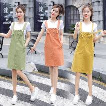 Fashion suit Summer 2020 S M L XL Ginger army green orange Tong Ying ya TYY-6025 Polyester 55% other 45% Pure e-commerce (online only)