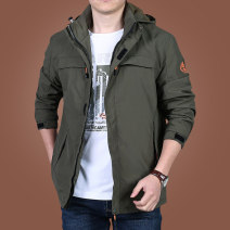 Jacket KPB Fashion City M L XL 2XL 3XL 4XL 5XL 6XL routine standard Other leisure autumn Polyamide fiber (nylon) 100% Long sleeves Wear out Detachable cap Military brigade of tooling youth Medium length Zipper placket Straight hem No iron treatment Closing sleeve Solid color Spring 2020 nylon