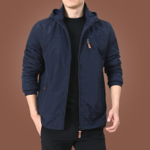 Jacket KPB Business gentleman M L XL 2XL 3XL 4XL 5XL 6XL thick easy Other leisure autumn Polyamide fiber (nylon) 100% Long sleeves Wear out Detachable cap Business Casual middle age routine Zipper placket Cloth hem coating Closing sleeve other nylon Autumn of 2019 More than two bags) Zipper bag nylon