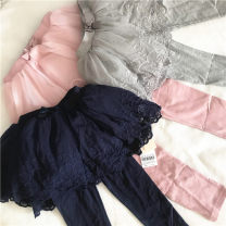 trousers Other / other female 73cm,80cm,90cm,100cm,110cm,120cm,130cm Grey, pink, navy spring and autumn trousers Europe and America Leggings middle-waisted 2 years old, 3 years old, 4 years old, 5 years old, 6 years old, 7 years old