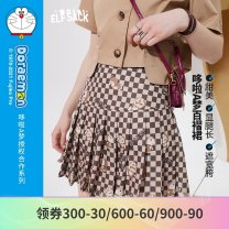 skirt Summer 2021 S M L Duoka (pre-sale 4.26) Khaki Beige (pre-sale 4.26) Duoka a Khaki Beige a Short skirt Retro Natural waist A-line skirt letter Type A 18-24 years old 1121_ AL7011 More than 95% other Elf sack / goblin's pocket polyester fiber printing Polyester 100% Pure e-commerce (online only)