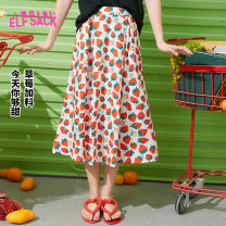 skirt Summer 2020 S M L Strawberry mousse strawberry mousse a Mid length dress Sweet Natural waist A-line skirt Type A 18-24 years old 1021_ AL7098 More than 95% Elf sack / goblin's pocket polyester fiber printing Polyester fiber 97.1% polyurethane elastic fiber (spandex) 2.9% Countryside