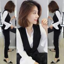 Fashion suit Spring 2021 S M L XL bobowaltz Polyester 91.6% polyurethane elastic fiber (spandex) 8.4% Pure e-commerce (online only)