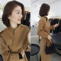 woolen coat Winter of 2019 S M L XL khaki polyester 81% (inclusive) - 90% (inclusive) routine Long sleeves street routine B193y09360p3253 bobowaltz Polyester 85% polyamide 15% Pure e-commerce (online only) Europe and America