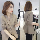 short coat Autumn of 2019 S M L XL Light brown pink Long sleeves routine routine singleton  Self cultivation routine tailored collar Single breasted Solid color 30-34 years old bobowaltz 96% and above B191y01245p309 polyester fiber Polyester 100% Pure e-commerce (online only)