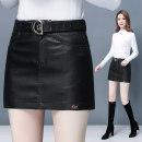 Casual pants 601 black 937 × black S M L XL XXL XXXL Autumn of 2019 shorts Straight pants High waist commute routine 25-29 years old 81% (inclusive) - 90% (inclusive) YLN504 Yilin bird Korean version Three dimensional decoration Viscose Viscose (viscose) 83.3% polyester 16.7%