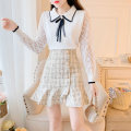 Fashion suit Autumn 2020 S M L XL average size Single white sweater single pink sweater single apricot skirt single black skirt pink sweater + apricot skirt white sweater + apricot skirt white sweater + black skirt 18-25 years old Qingxi Pavilion QXG20A0526 Polyester 60% other 40%