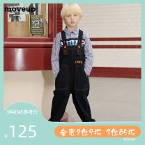 trousers moveup kids neutral 110cm 120cm 130cm 140cm 150cm Denim blue spring and autumn trousers Simplicity There are models in the real shooting middle-waisted cotton Don't open the crotch Cotton 99.2% polyurethane elastic fiber (spandex) 0.8% Class B Autumn of 2019 Chinese Mainland Dongguan City