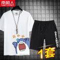 T-shirt Youth fashion routine M L XL 2XL 3XL 4XL 5XL NGGGN Short sleeve Crew neck easy Other leisure summer NJR2021040903 Other 100% youth routine tide Summer 2021 Cartoon animation Creative interest No iron treatment Domestic famous brands Same model in shopping mall (sold online and offline)