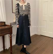 Cosplay women's wear Other women's wear goods in stock Over 14 years old Skirt, striped top Animation, original M,L,S QUGUDUAN See the details