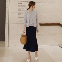 skirt Autumn of 2018 XS S M L XL 2XL 3XL black Mid length dress fresh Natural waist A-line skirt Solid color Type A 51% (inclusive) - 70% (inclusive) LOOPZILLA Viscose Viscose fiber (viscose fiber) 64.4% polyester fiber 31.7% polyurethane elastic fiber (spandex) 3.9% Pure e-commerce (online only)
