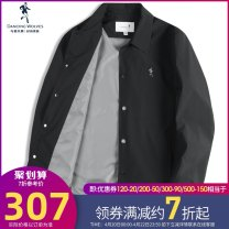Jacket D-women/ dance with Wolves Fashion City A black 001 B haze blue 129 casual Lapel Design Collection Plus purchase priority delivery 160/80A/XS 165/84A/S 170/88A/M 175/92A/L 180/96/XL 185/100A/XXL 190/104A/XXXL thin standard Other leisure spring Polyester 100% Long sleeves Wear out Lapel youth