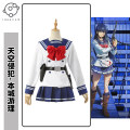 Cosplay women's wear suit Pre sale Over 14 years old comic XS,S,M,L,XL,XXL ideal Lovely wind, campus wind, animation clothing Sky invasion The sky invades the city tour management cos clothing