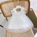 Dress white female Other / other 66cm,73cm,80cm,90cm,100cm Cotton 95% other 5% summer Korean version Skirt / vest Solid color cotton A-line skirt BB212Q02 Class A 3 months, 12 months, 6 months, 9 months, 18 months, 2 years old