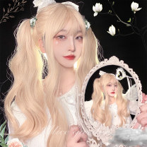 Whole wig High temperature silk Long curly hair Sweet and lovely Fashion girl bangs alice garden