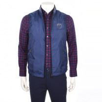 Vest / vest Fashion City Biem.l.fdlkk/bien leffin 95(165/92B),100(170/96B),105(175/100B),110(180/104B),115(185/108B),120(190/112B),125(195/114B) Other leisure Self cultivation Vest thin spring stand collar 2017 Business Casual zipper Straight hem nylon nothing Zipper bag
