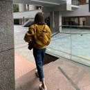 Women's large Summer 2020, spring 2020 Denim M (90-100 kg), l (100-120 kg), XL (120-140 kg), 2XL (140-160 kg), 3XL (160-180 kg), 4XL (180-200 kg recommended) Jeans commute Solid color Korean version Denim 18-24 years old Ninth pants