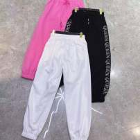 Women's large Spring 2021, summer 2021 White, black, pink XL hip 120 length 96 [120-140], 2XL hip 124 length 97 [150], 3XL hip 128 length 98 [160], 4XL hip 132 length 99 [170-200] Other / other