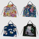 apron 01 , 02 , 03 , 04 , 05 , 06 , 07 , 08 , 09 , ten , eleven , twelve , thirteen , fourteen , fifteen , sixteen , seventeen Sleeveless apron antifouling Chinese style other Household cleaning Average size Chaopai public yes Retro style