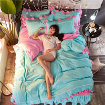 Bedding Set / four piece set / multi piece set Others Others, embroidery Solid color other Other / other Others 4 pieces other Xinyao, Xiyu, Yunmeng, another youth, Chunguang, Jinxuan, Jingyi, lanruo, Monroe, Mulan, my only, Xiangqing, Xiumei, Yajing, Yourou Fitted sheet Qualified products Simplicity