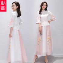 Fashion suit Summer 2020 M L XL XXL Picture color 18-25 years old Red ink Other 100% Pure e-commerce (online only)