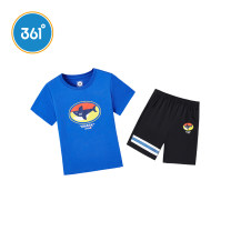 suit 361° Ben White / dark blue / Classic Black Whirlwind Blue / classic black corn yellow / light tile grey 110cm 120cm 130cm 101cm male summer motion Short sleeve + pants 2 pieces Thin money There are models in the real shooting Socket nothing Cartoon animation N52024402 Class B Summer 2020