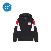 Plain coat 361° male 130cm 140cm 150cm 160cm 170cm spring and autumn college Zipper shirt No model routine No detachable cap Cotton polyester Polyester fiber 50% cotton 45% polyurethane elastic fiber (spandex) 5% Class B Autumn of 2019