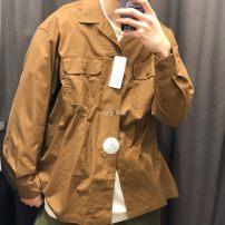 short coat Summer 2020 XS,S,M,L,XL,2XL,3XL,4XL Long sleeves V-neck UNIQLO / UNIQLO