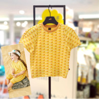 T-shirt Yellow ye (7-15 days delivery), yellow ye (48 hours delivery) moimoln 100 for ± 85CM, 110 for ± 95cm, 120 for ± 105cm and 130 for ± 115cm neutral summer Short sleeve No model other other Other 100% M212TSG30P Class B 12 months, 9 months, 18 months, 2 years, 3 years, 4 years