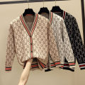 Wool knitwear Autumn of 2018 S M L XL 2XL 3XL 4XL Long sleeves singleton  Cardigan other More than 95% Regular thick commute easy V-neck routine other Single breasted Korean version 25-29 years old Yunsilu Color fixing with stitching resin Other 100% Pure e-commerce (online only)