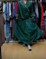 skirt Summer 2021 Average size Green, purple, orange, black longuette commute Decor Type A 51% (inclusive) - 70% (inclusive) hemp Embroidery