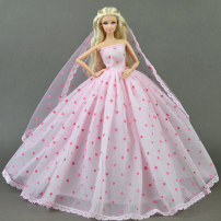 Doll / accessories 3, 4, 5, 6, 7, 8, 9, 10, 11, 12, 13, 14, 14 and above parts Other / other China Clothes, no dolls No.10 for headdress, No.3, No.89, No.91 for big headdress, No.30, No.1 for headdress, white wedding dress + headdress Over 14 years old other parts Fashion cloth 2010 clothing