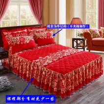 Bed skirt Others Decor, light lotus, LQ solid color with cotton - Scarlet Peimei Plants and flowers Qualified products pm-alk
