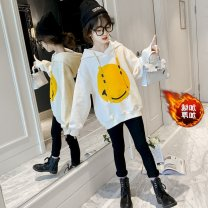 suit Other / other The recommended height is about 105cm for Size 110, 115cm for Size 120, 125cm for Size 130, 135cm for size 140, 145cm for size 150 and 155cm for size 160 female winter leisure time Long sleeve + pants 2 pieces thickening There are models in the real shooting Socket cotton friend