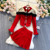 Fashion suit Spring 2021 M, L Black, red 18-25 years old 31% (inclusive) - 50% (inclusive)