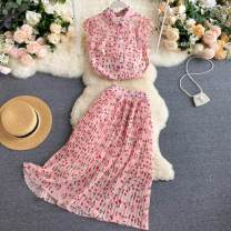 Fashion suit Summer 2020 S,M,L,XL Pink 18-25 years old 31% (inclusive) - 50% (inclusive)