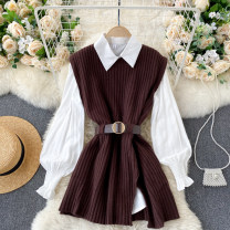 Fashion suit Autumn 2020 Average size Black, brown 18-25 years old 31% (inclusive) - 50% (inclusive)