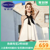Split swimsuit An Lifang M L XL XXL Skirt split swimsuit With chest pad without steel support Spring of 2018 yes Sleeveless