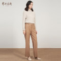 Casual pants 155/60A/XS 155/64A/S 160/68A/M 165/72A/L 170/76A/XL 175/80A/XXL Autumn 2020 trousers Straight pants Natural waist commute routine 25-29 years old 31% (inclusive) - 50% (inclusive) Ordos, 1980 Wool blended fabric lady wool Same model in shopping mall (sold online and offline)