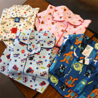 Home suit Other / other 140cm, 130 monsters 6-7, 90 monsters 2-3110 monsters 4-5120 monsters 5-6100 monsters 3-4 spring and autumn neutral Pure cotton (95% and above)