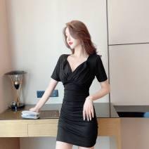 Dress Summer 2021 Apricot, black S,M,L