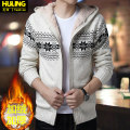 T-shirt / sweater Fashion City 165/S 170/M 175/L 180/XL 185/XXL 190/3XL thickening Cardigan Cap Long sleeves winter easy 2018 Polyacrylonitrile 76.9% polyester 23.1% leisure time like a breath of fresh air youth routine diamond Winter of 2018 Pure e-commerce (online only)