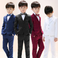 Suit / Blazer 100cm,110cm,120cm,130cm,140cm,150cm,160cm Other / other male There are models in the real shooting Korean version spring and autumn Solid color Single breasted routine Class B Polyester 80% viscose 20% dfgr6859 Four, five, six, seven, eight, nine, ten, eleven, twelve, thirteen, fourteen