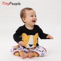 suit Tiny People [lion king] 73cm 80cm 90cm 100cm neutral spring and autumn Europe and America Long sleeve + pants 2 pieces routine There are models in the real shooting Socket nothing cotton 19AW-TZ01-SZW-T Class A Cotton 95% other 5% Autumn of 2019 12 months, 9 months, 18 months, 2 years, 3 years