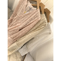 Dress Autumn 2020 Apricot dress, pink dress, white dress Average size singleton  Long sleeves commute Polo collar High waist Solid color Socket routine 18-24 years old Type A Korean version FCFG512598 31% (inclusive) - 50% (inclusive) cotton