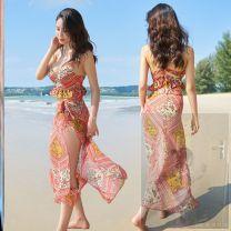 Split swimsuit Other brands M [recommended 80-95 kg], l [recommended 95-105 kg], XL [recommended 105-120 kg] Steel strap breast pad D32761TGqrN female